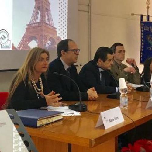 Il console generale di Francia a Napoli al liceo Manzoni