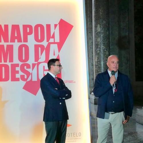 Napoli Moda Design. Dominella: la Reggia è una meraviglia
