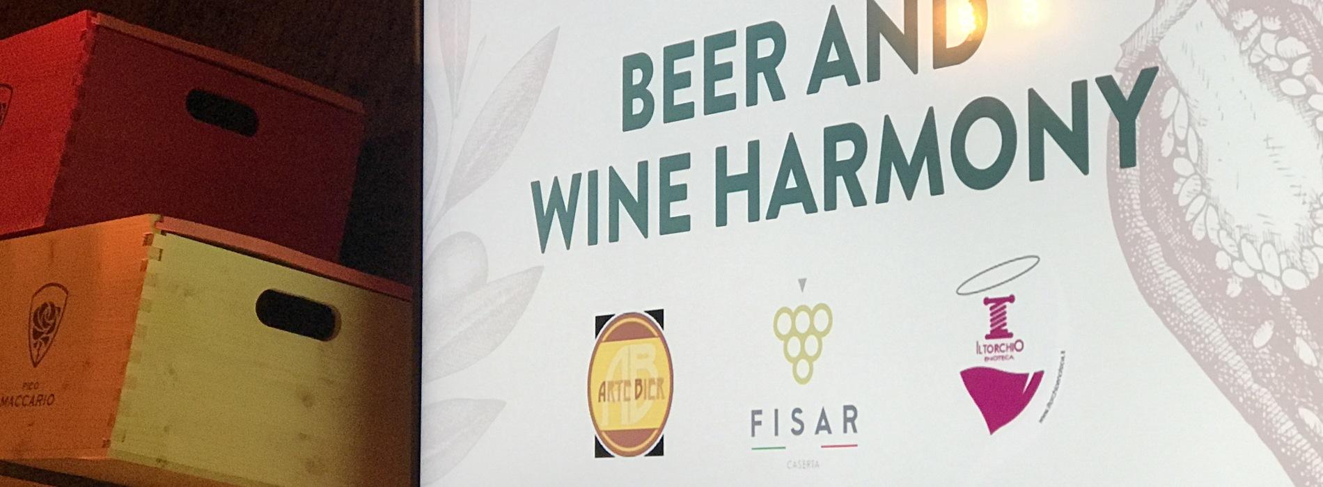 Birra o vino? A Caserta Il Torchio propone l'armonia in tavola