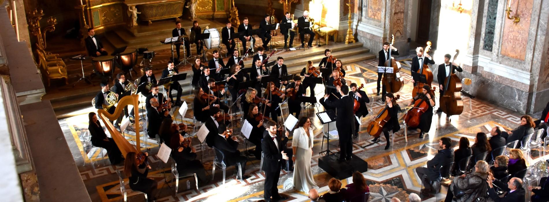 Concerto di Capodanno a Caserta, Cappella Palatina sold out
