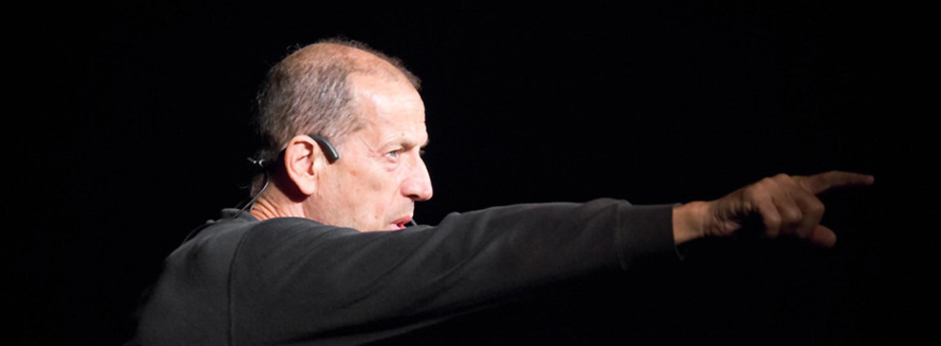 Marco Baliani in scena Teatro Nuovo di Napoli