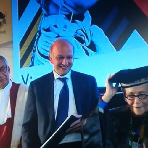 L'Officina Vanvitelli apre al Belvedere, e laurea Rosita Missoni