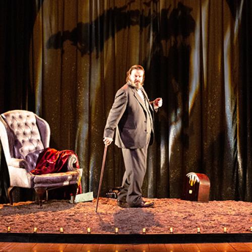 Churchill in palcoscenico, Battiston protagonista al Parravano