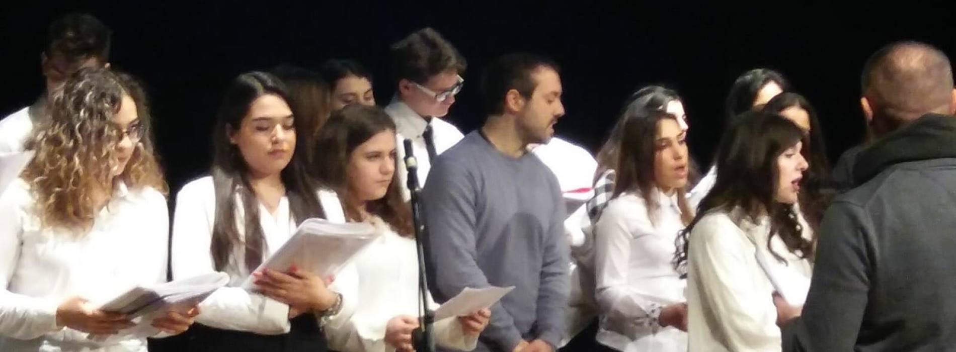 Il Coro dell'Ites Leonardo da Vinci in scena al Teatro Garibaldi