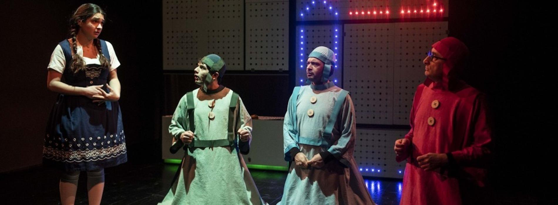 Una notte allo specchio, Biancaneve torna al Teatro Civico 14