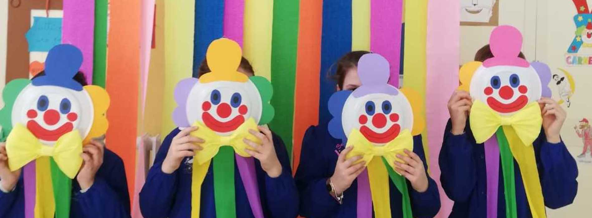 Carnevale 2019. Bambini in festa nelle scuole di Caserta