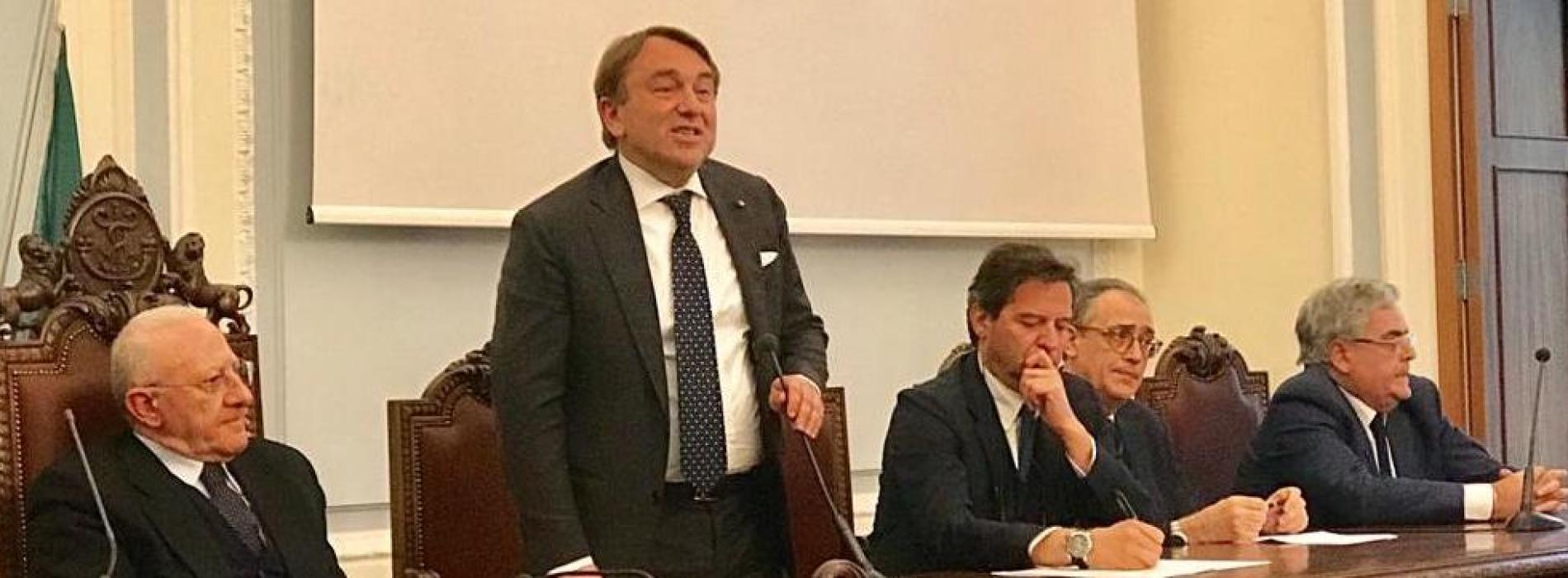 Caserta, la conferma di De Simone alla Camera di Commercio