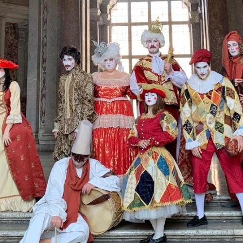 Martedì grasso a Caserta, Re Carnevale trova casa alla Reggia