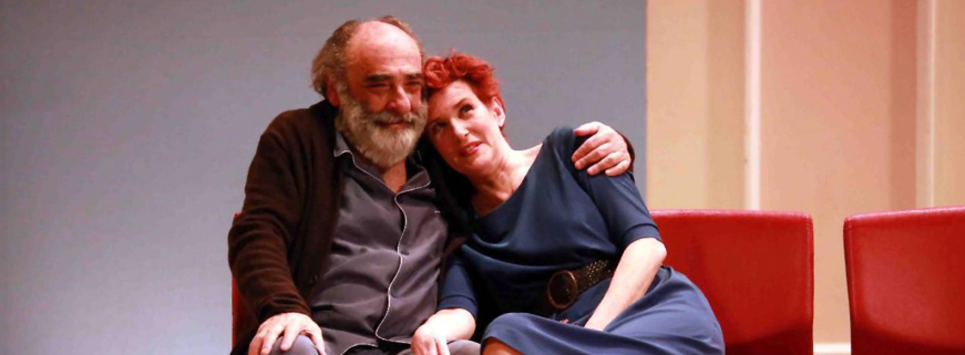 Alessandro Haber e Lucrezia Lante della Rovere al Comunale
