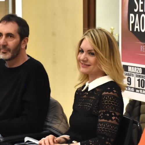 Serena Autieri e Paolo Calabresi al Salotto a Teatro (ph Pino Attanasio)