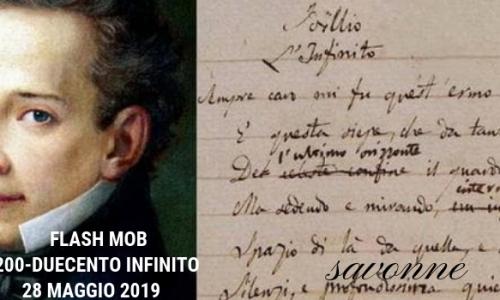 #200Infinito, flash mob su Giacomo Leopardi. Ondawebtv c'è!