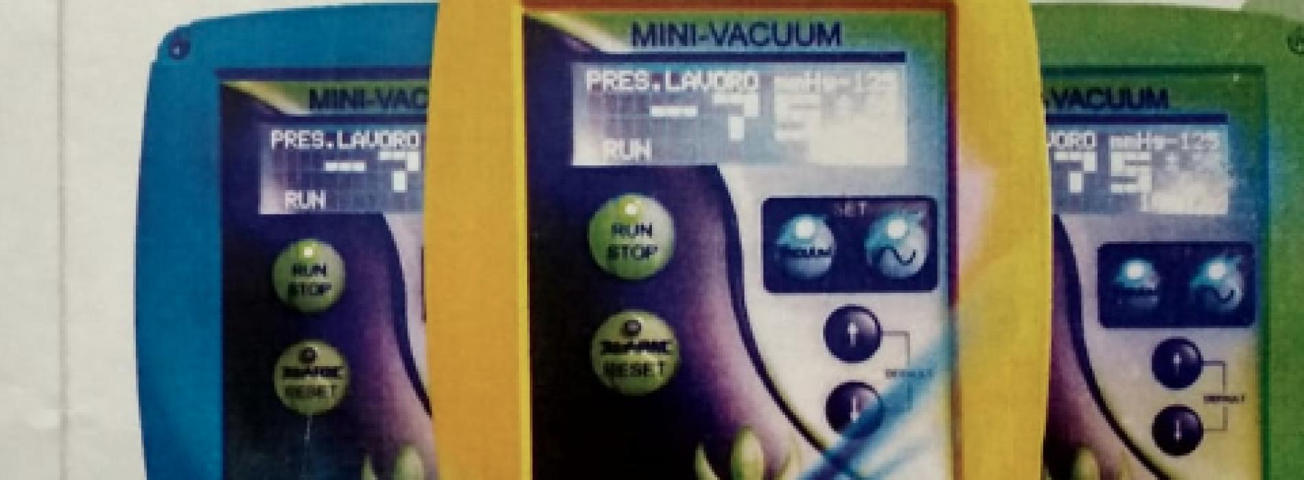 Mini Vacuum. Presentato il nuovo apparecchio per la cura delle ferite