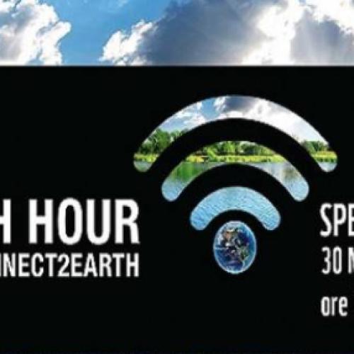 Ondawebtv aderisce all'Ora della Terra. 30 marzo ore 20,30