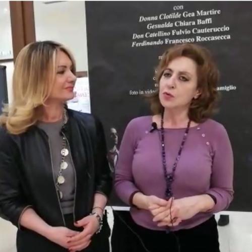 Gea Martire protagonista di Ferdinando al Comunale di Caserta