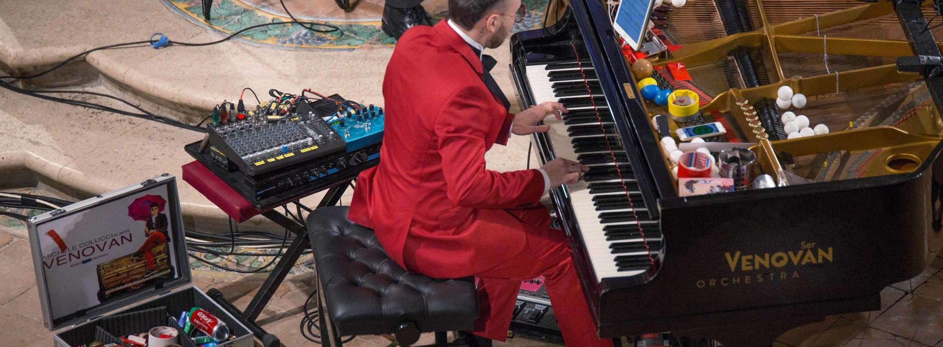 Ser Venovan in concerto per Formicola Borgo DiVino