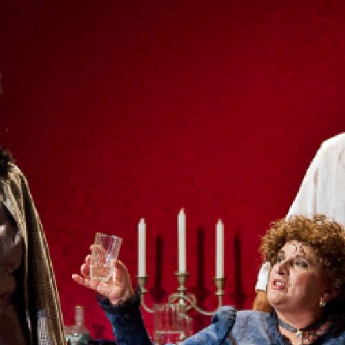 """Gli attori di """"Ferdinando"""" ospiti de Il Salotto a Teatro"""