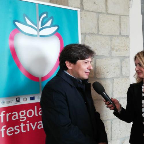 Fragola Art Festival 2019. Il sindaco di Parete Gino Pellegrino