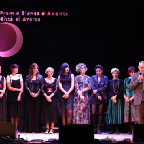 Premio Bianca d'Aponte, le undici autrici arrivate in finale