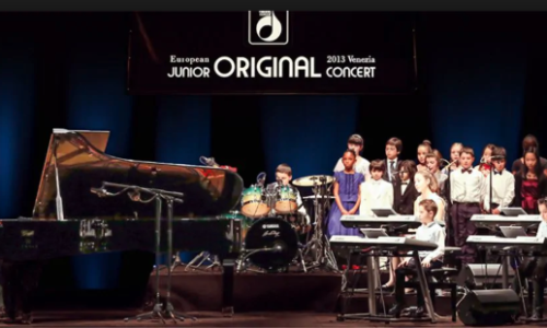 Junior Original Concert 2019, a maggio fa tappa a Caserta