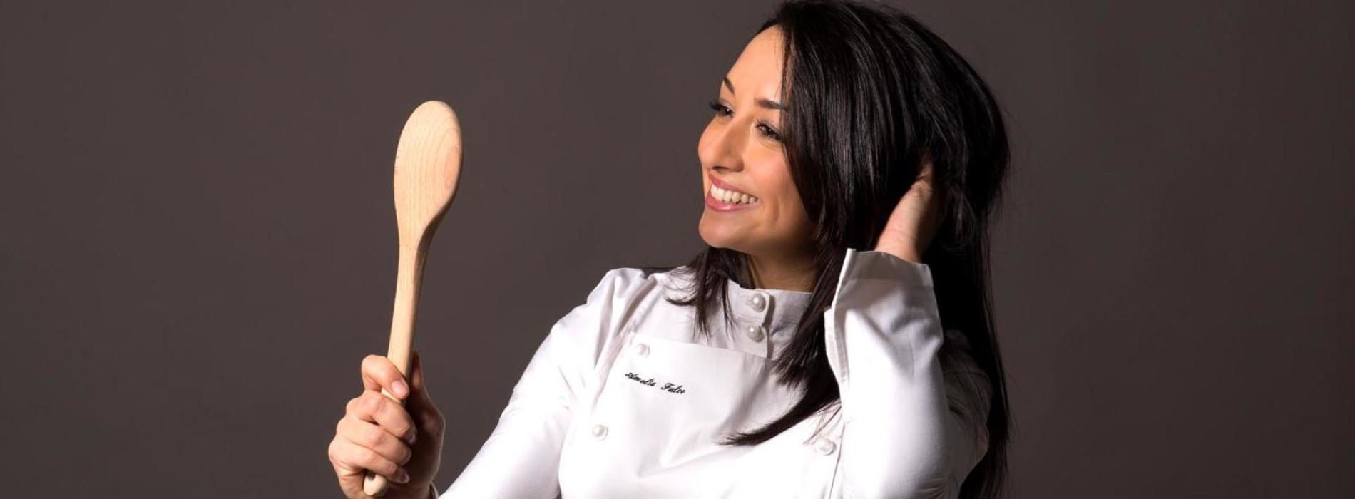 Parete, la chef Amelia Falco e quel gusto salato della fragola