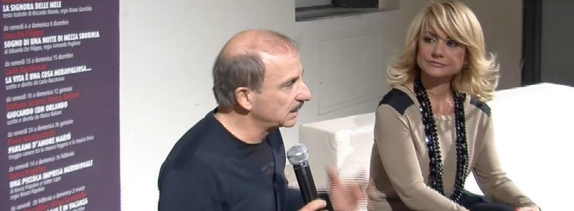 Caserta. Carlo Buccirosso ospite de Il Salotto a Teatro