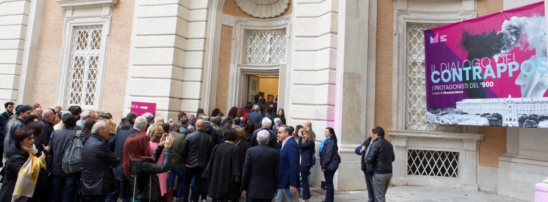 """#FestadeiMusei2019. La Reggia va, boom per i """"contrapposti"""""""