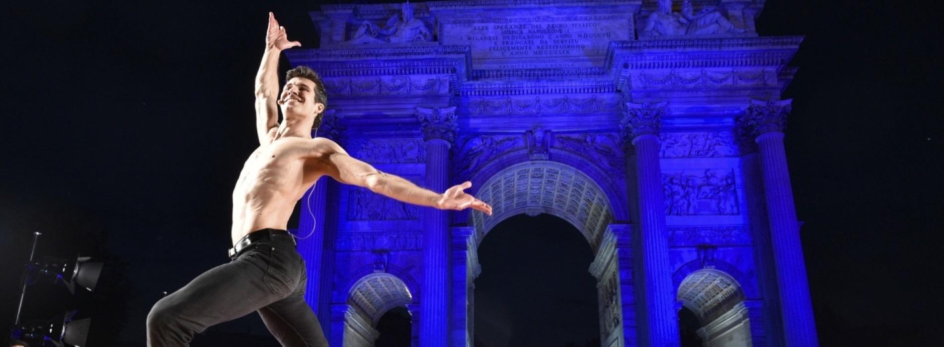 Roberto Bolle ritorna a Napoli per la grande festa della danza