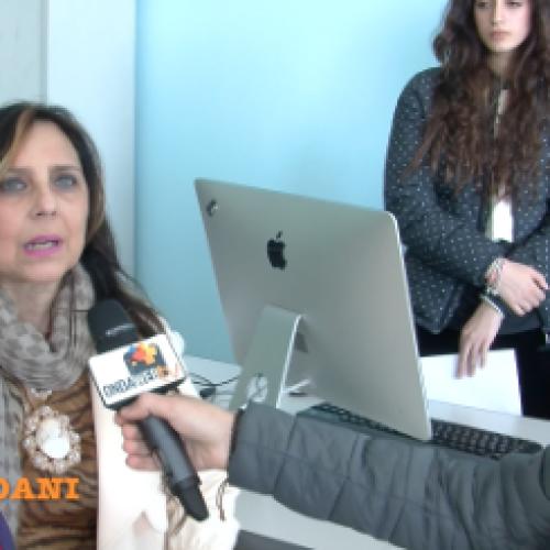 Tv Giordani incontra la preside Antonella Serpico
