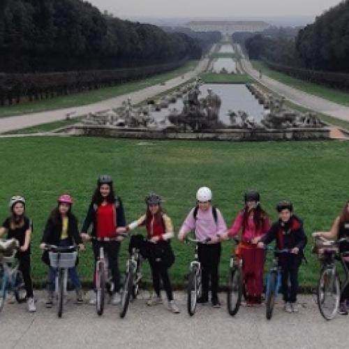 Mobilità sostenibile. A #scuola in bicicletta, Caserta risponde