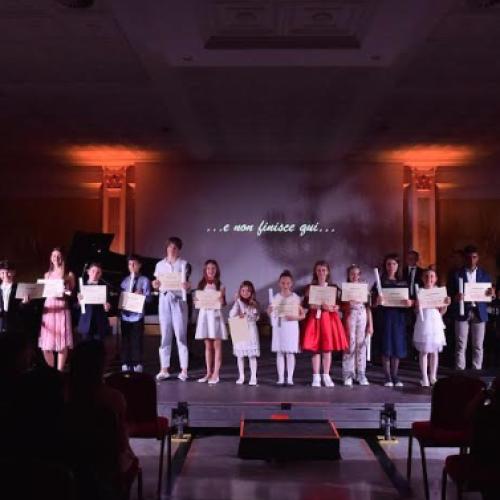 Junior original concert, mini ambasciatori di musica a Caserta