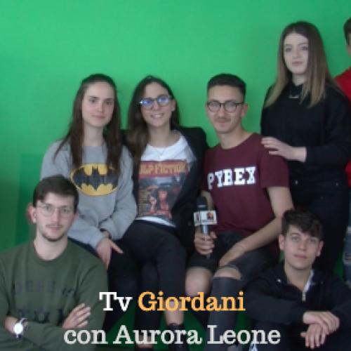 Tv Giordani incontra Aurora Leone