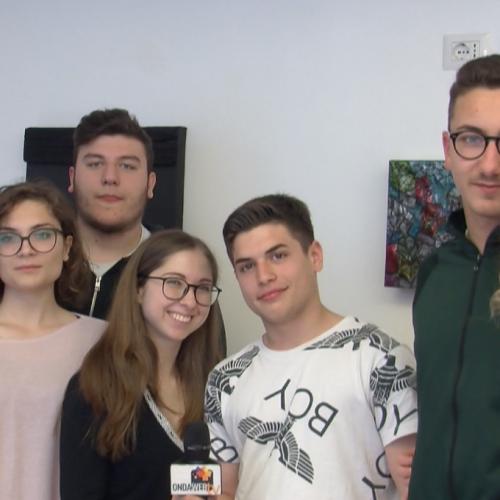 Tv Giordani incontra la giovane poetessa Francesca Saladino