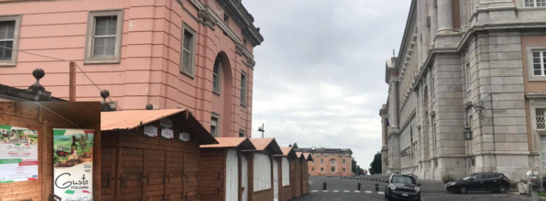 Caserta, la tre giorni di Gusto Italiano all'ombra della Reggia