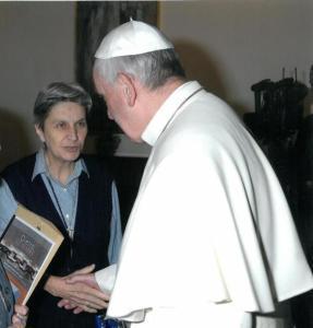 suor rita - Papa Francesco