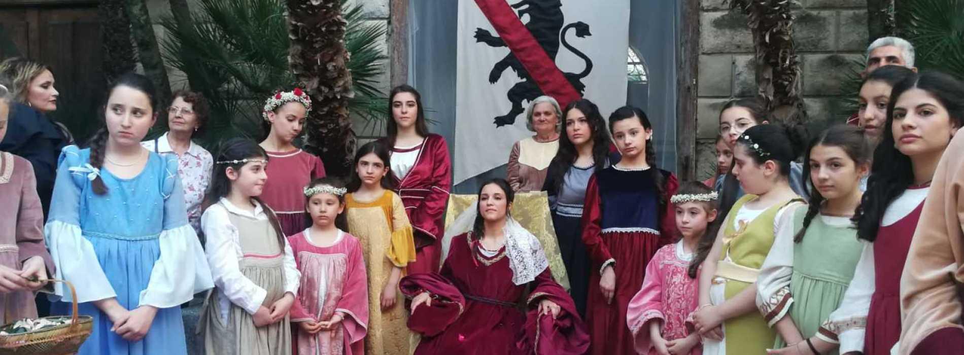 Ad Arienzo le nozze di Giovannella Stendardo, 600 anni dopo