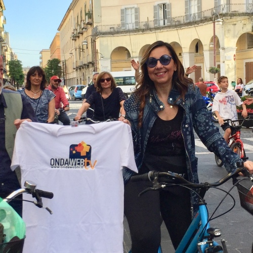 Caserta, la scuola si è messa in bici per una città più vivibile
