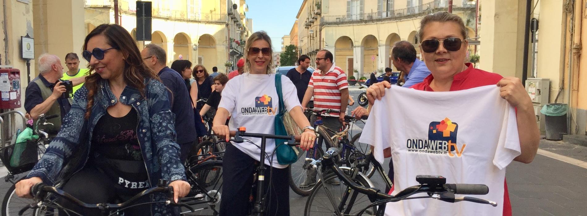 Scuola in Bici con l'Itis Giordani di Caserta