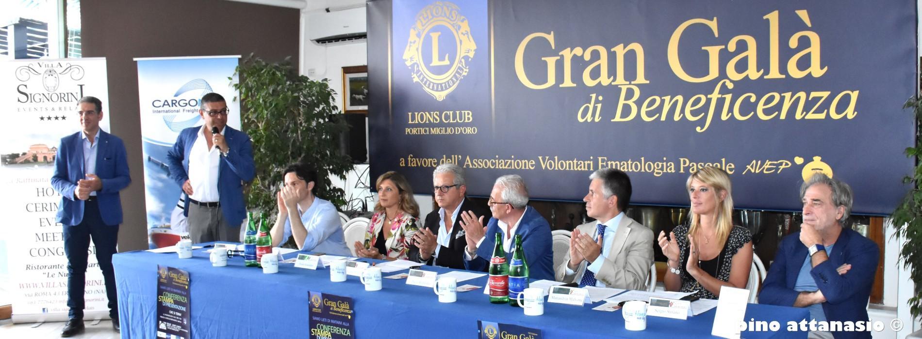 A Napoli il Gran galà di beneficenza per l'Avep con tanti vip