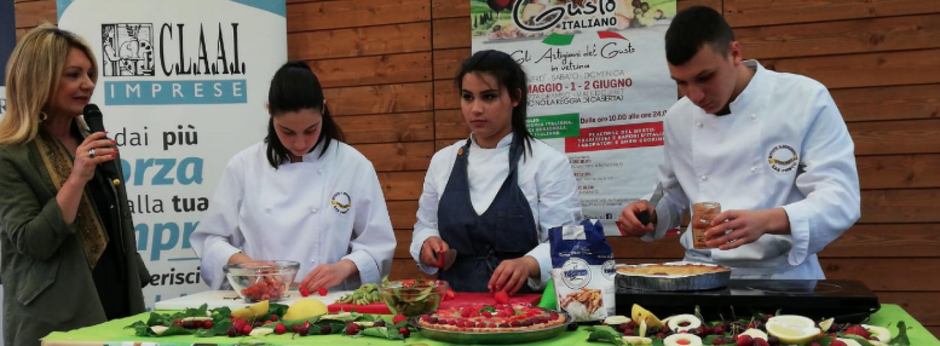 Gusto italiano, tra show cooking e laboratori vince la qualità