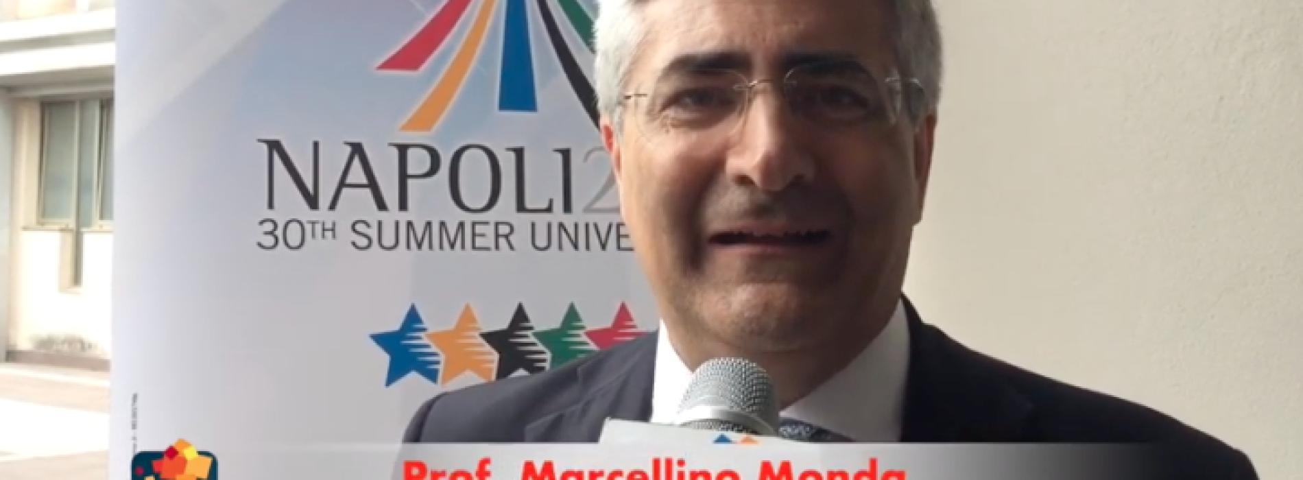 Monda (Vanvitelli), l'Universiade serve a promuovere la salute