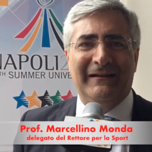 Monda (Vanvitelli), l'Universiade serve a promuovere la salute