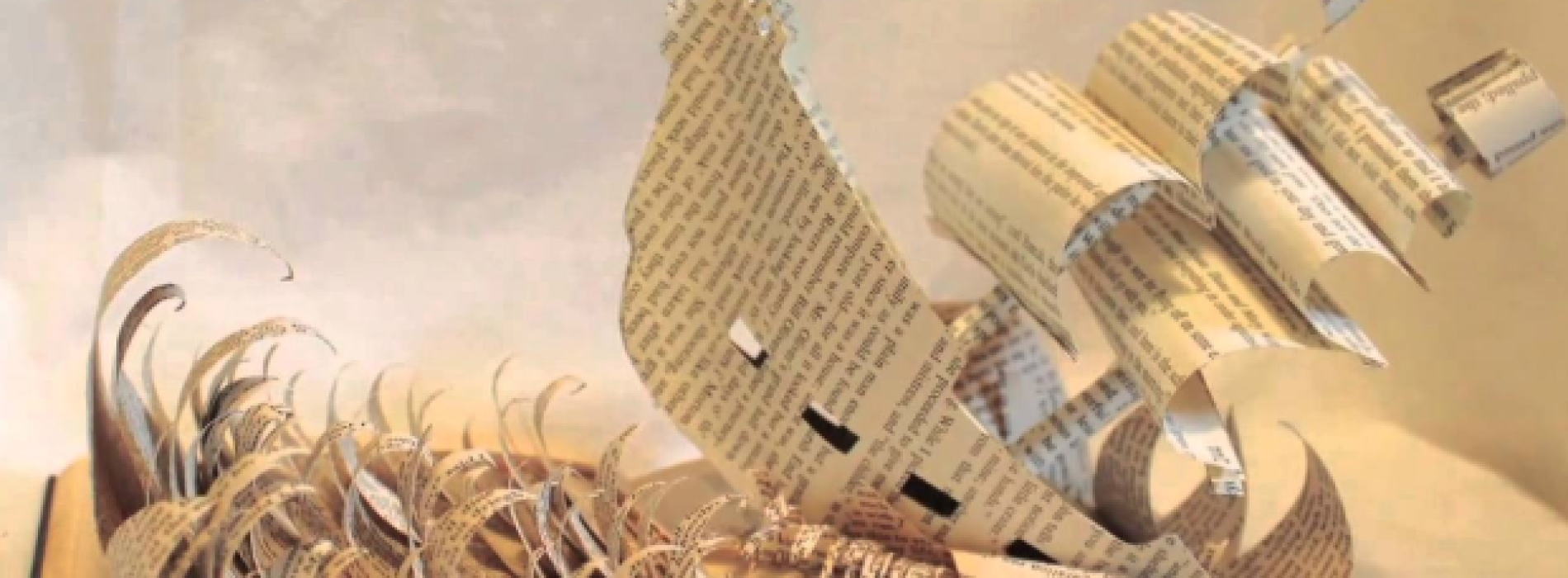 Book sculpture, i personaggi della letteratura prendono vita