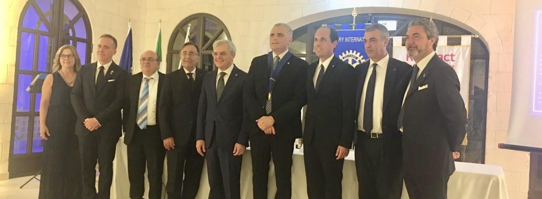 Rotary Club Caserta Reggia. Antonio Nuzzolo neo presidente