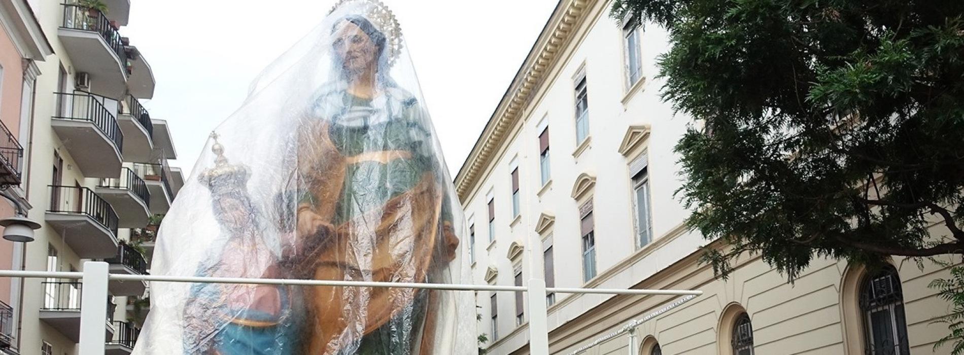 Sant'Anna. Il maltempo non ferma le celebrazioni in città