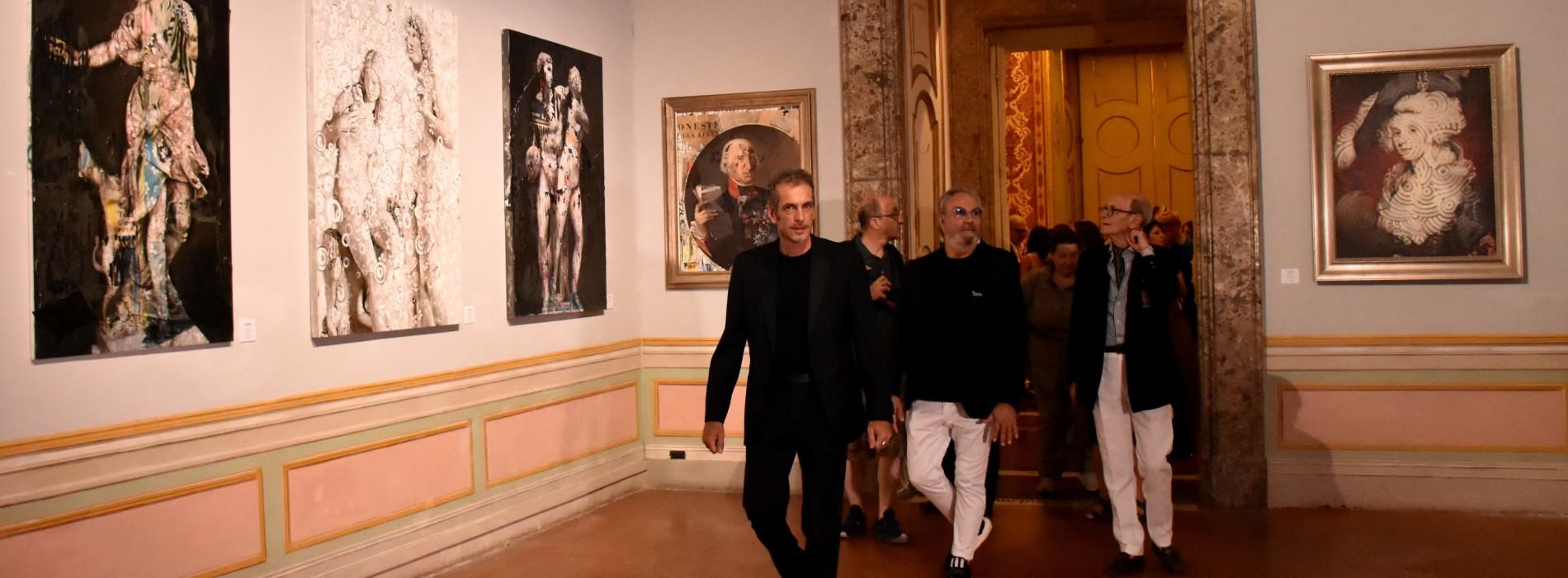 Vernissage alla Reggia, Rocco Barocco testimonial per Chisesi