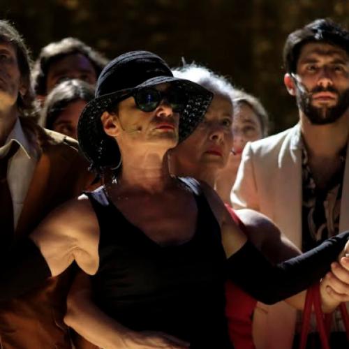 Teatro Festival, il Satyricon di Francesco Piccolo live a Pompei