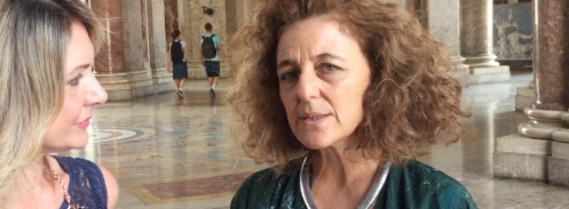 """Il neodirettore Tiziana Maffei: """"Mi prenderò cura della Reggia"""""""