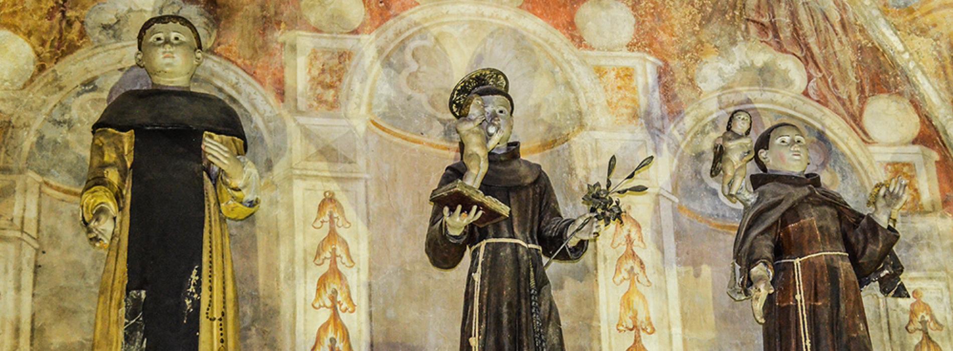 Nel Cilento brilla la Stella dell'arte, Segnali visivi in cappella