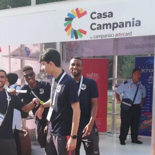 L'Universiade all'ombra della Reggia, aperta Casa Campania