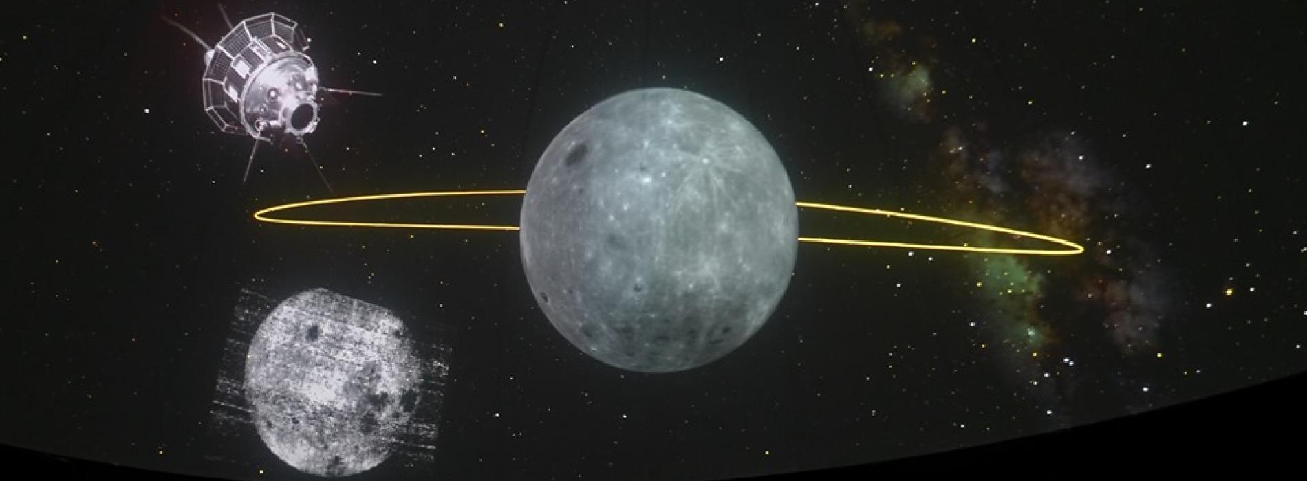 Al Planetario di Caserta in scena Chiari di Luna, chiari di Terra